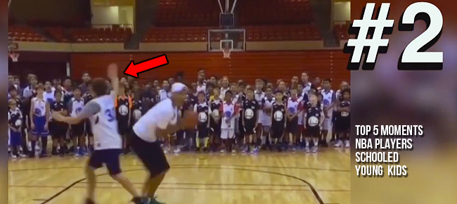 Top 5 Moments NBA Players Schooled Young Kids (VIDEO)