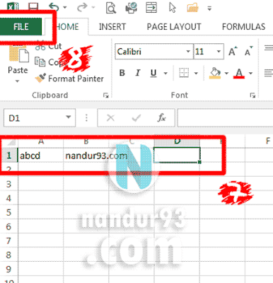 Microsoft Excel Bagi Pemula File Nandur93
