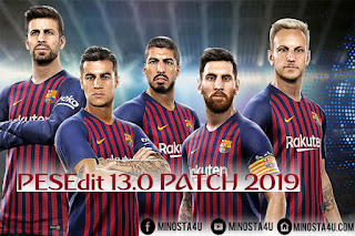 PES 2013 PESEdit 13.0 Patch 2019 by Minosta4u