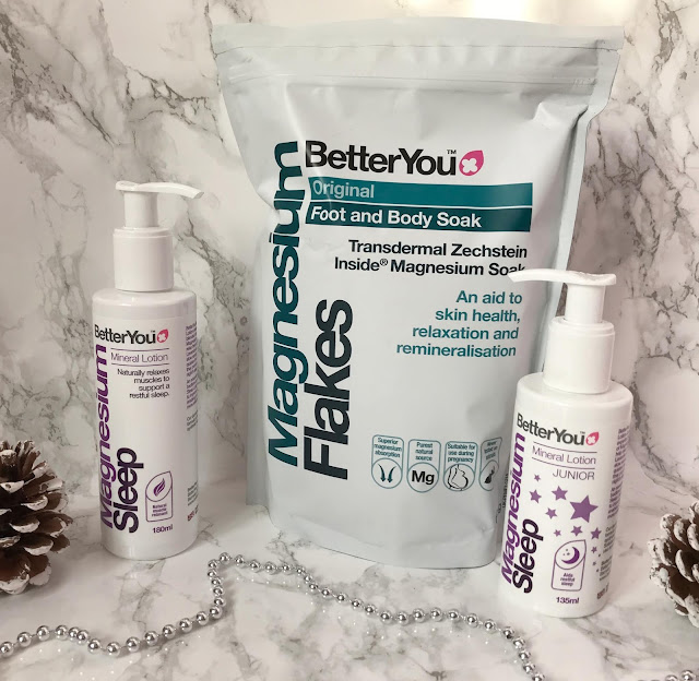 betteryou bath flakes and sleep lotion