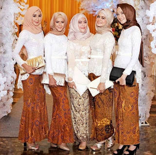 Model Kebaya Hijab Pesta