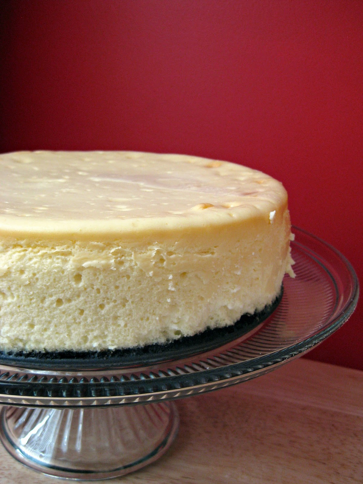 Patty's White Chocolate Cheesecake