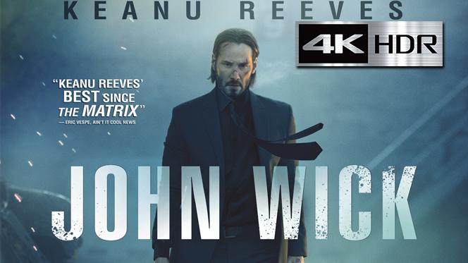 John Wick (2014) 4K UHD [HDR] Latino-Castellano-Ingles