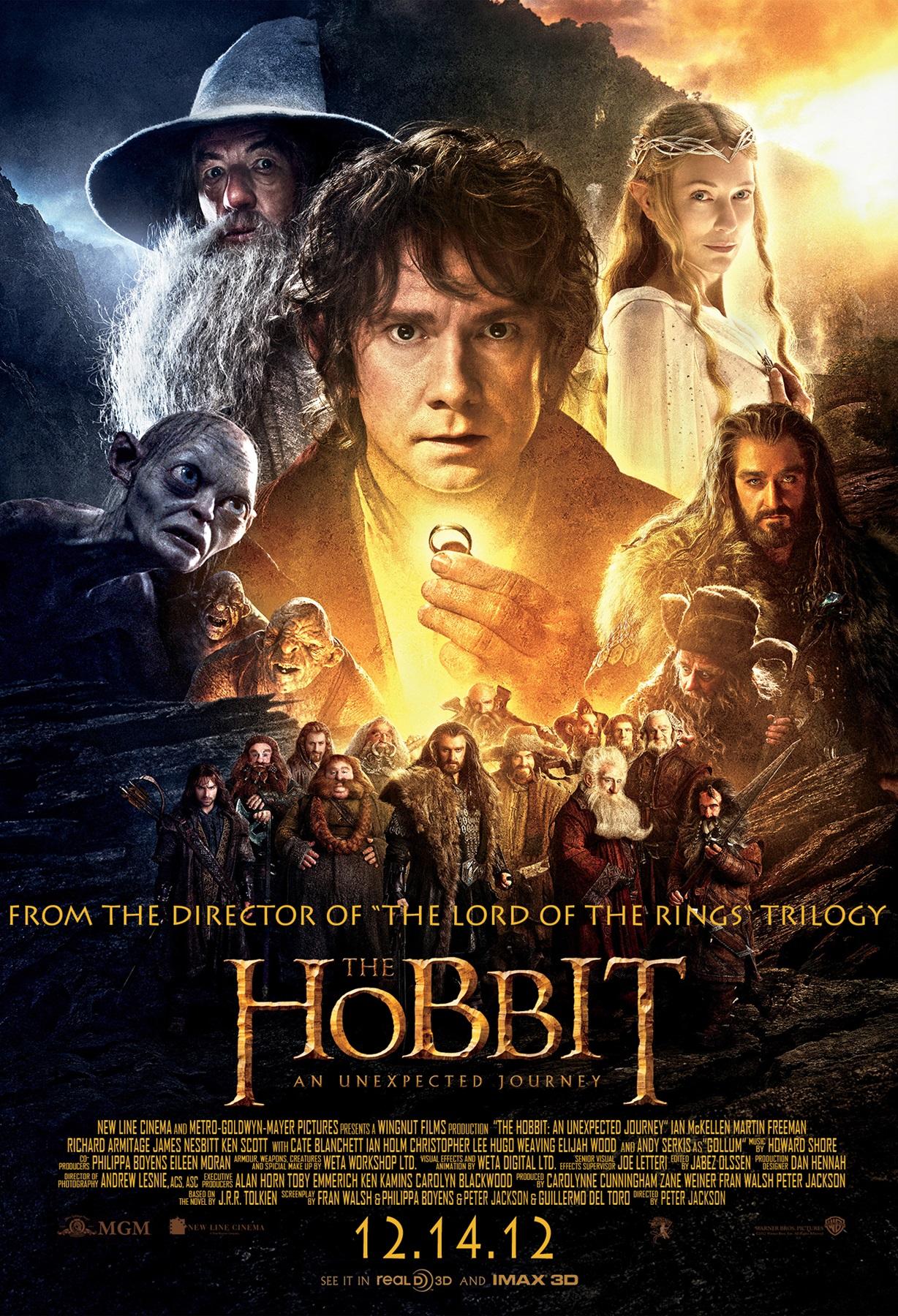 hobbit niezwykła podróż film recenzja plakat martin freeman