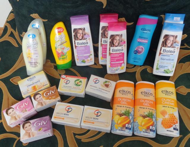 Niemieckie zakupy kosmetyczne z wyjazdu weekendowego :)