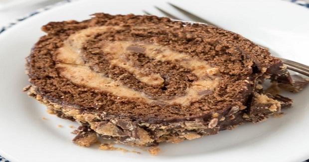 Peanut Butter Cup Cake Roll Recipe