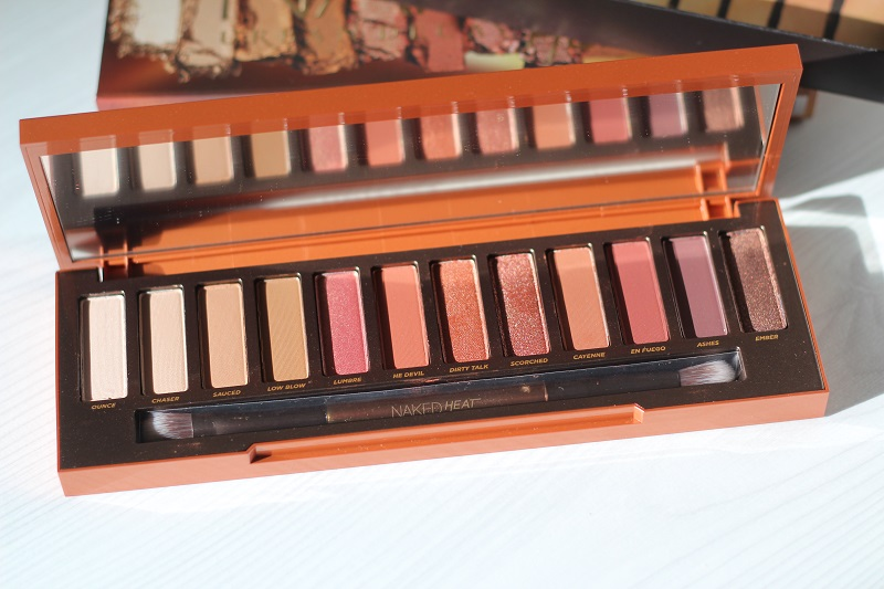 Urban Decay Naked Heat Palette -luomiväripaletti   12 x 1