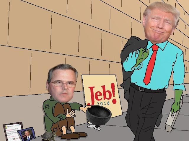 Jeb está fora