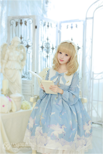 mintyfrills kawaii sweet cute lolita fashion harajuku sky