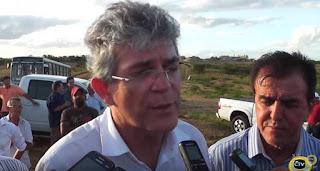 Em Picuí ao lado de Rubens Germano, Ricardo reforça apoio a presidente Dilma Rousseff