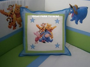 Juego de cuna winnie the pooh