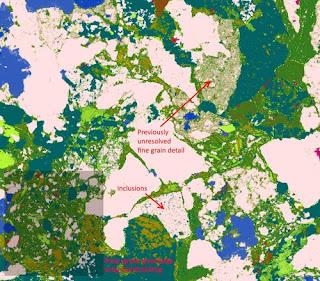 Nanomin Mineral Classification Image