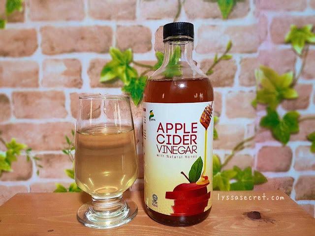 Apple Cider Vinegar Bragg Review jerawat