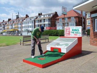 The Arnold Palmer Putting Course in Skegness