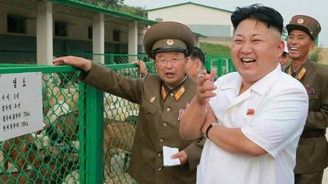 زعيم كوريا الشمالية فَعَلَ ما لا يمكن أن يفعله أحد قرب صاروخ باليستي شاهدوا بأنفسكم ماذا فعل