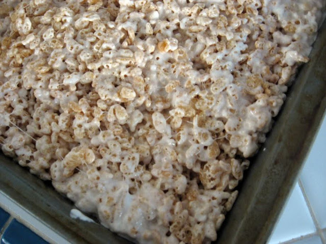 Brown Butter Rice Krispie Treats by freshfromthe.com