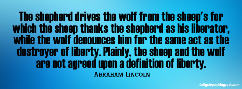 abraham lincoln inspirational quotes liberty best motivational