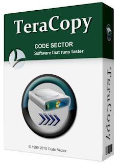برنامج نقل و نسخ الملفات بأعلى سرعة TeraCopy Pro 2.3