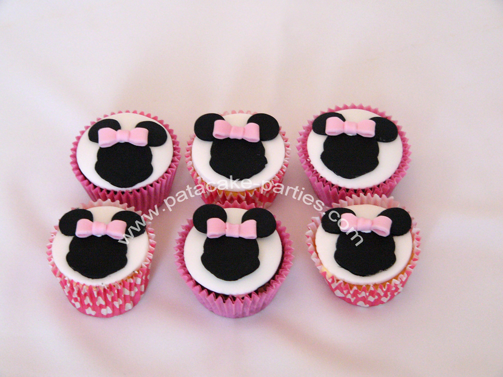 Minnie Mouse Cake And Cupcake Tower