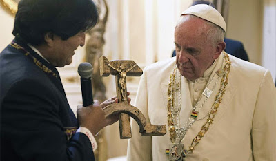Morales, pope and abomination