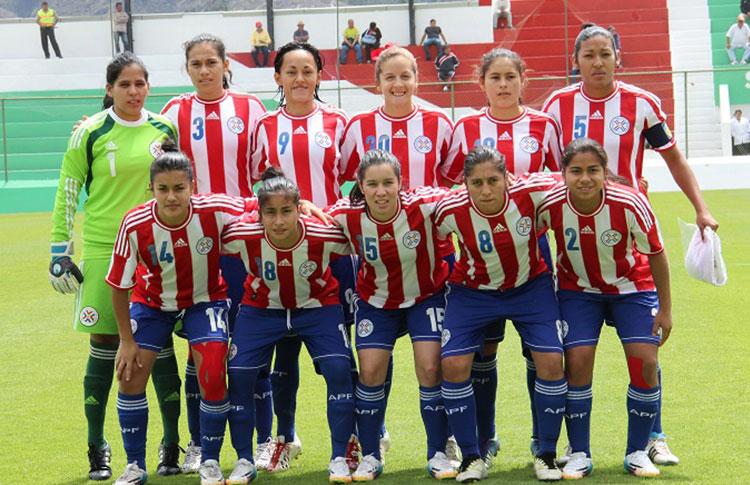Formación de selección de Paraguay ante Chile, Copa América Femenina 2014, 20 de septiembre