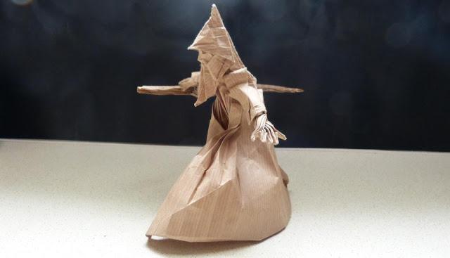origami czarodziej