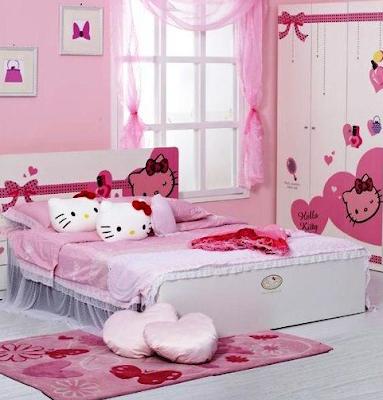 Setiap anak wanita tentunya pernah mempunyai cita √ 75 Desain Kamar Tidur Anak Perempuan yang Feminim Terbaru
