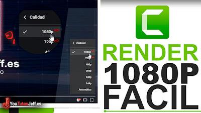 como renderizar en 1080p full hd