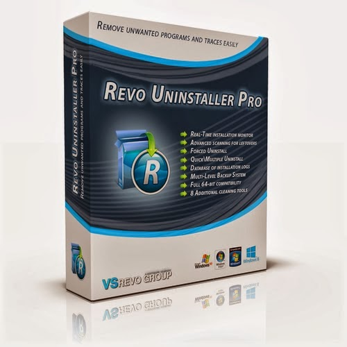 Revo Uninstaller Pro 3.1.8 by KpoJIuK (Español)(Desinstalador de Programas)
