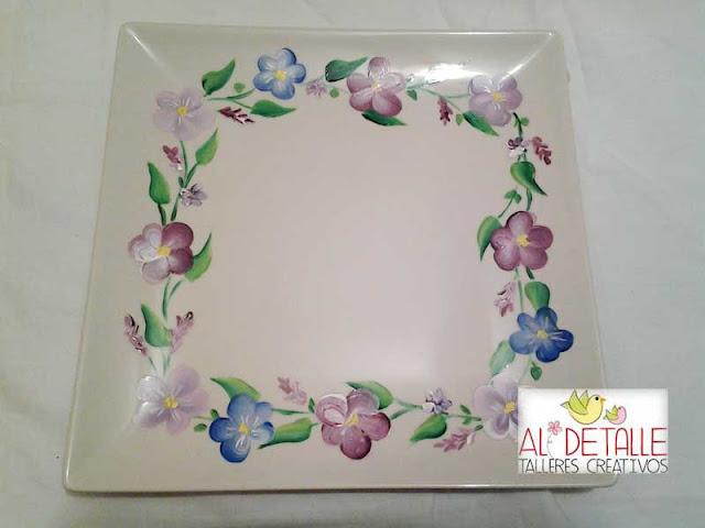 Rosabel manualidades porcelana decorada - Rosabel manualidades ...