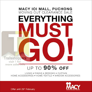 MACY Furniture Moving Out Clearance Sale