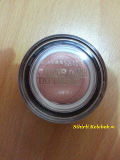 Rossmann, Maybelline, Color Tattoo Pink Gold