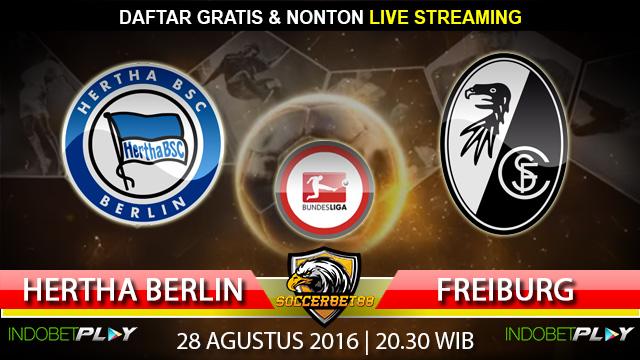 Prediksi Hertha Berlin vs Freiburg 28 Agustus 2016 (Liga Jerman)