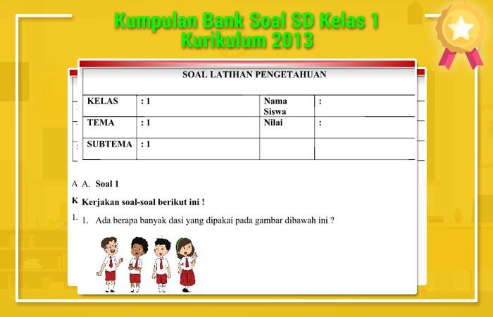 Bank Soal SD Kelas 1