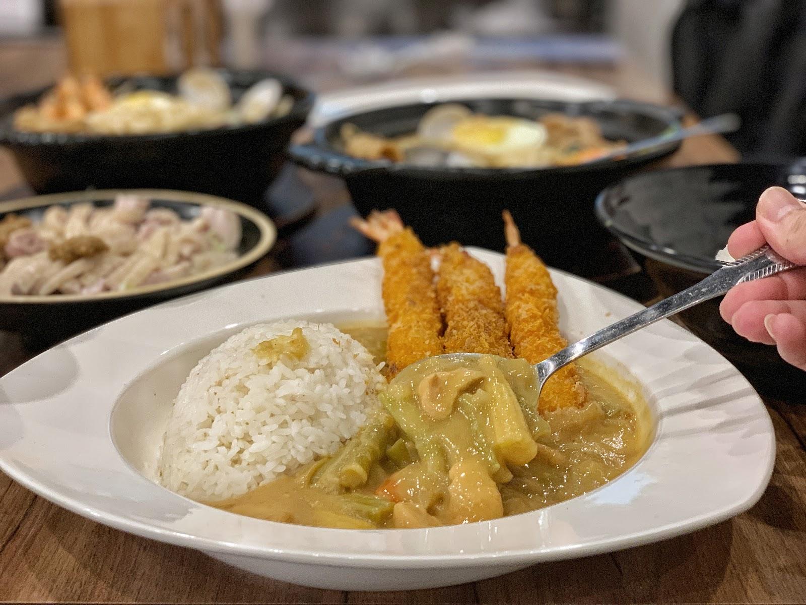 台南東區美食【寶貝老闆新加坡叻沙麵 東寧店】椰奶咖哩