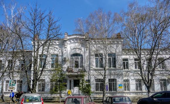 Новомосковск. Ул. Гетманская. Районная администрация
