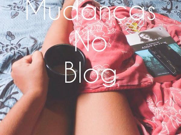 Mudanças no blog: nome, endereço, contato, redes e fan page