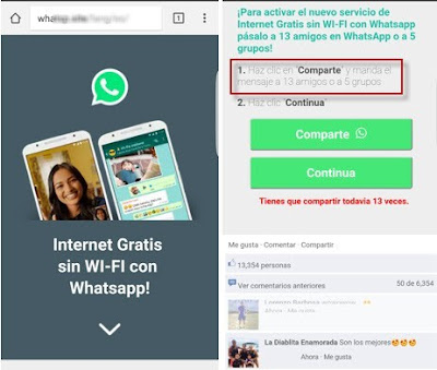 WhatsApp Scam -Edem Boni and Elizabeth Boni