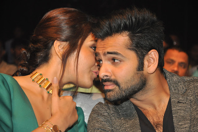 ram,rashi khanna at hyper audio launch