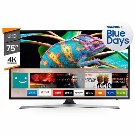 "Gana TV Smart 75"" Samsung"