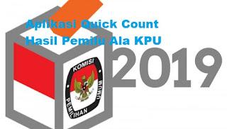aplikasi quick count pemilu