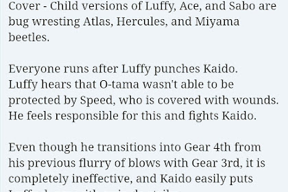 Spoiler Manga One Piece Chapter 923 English