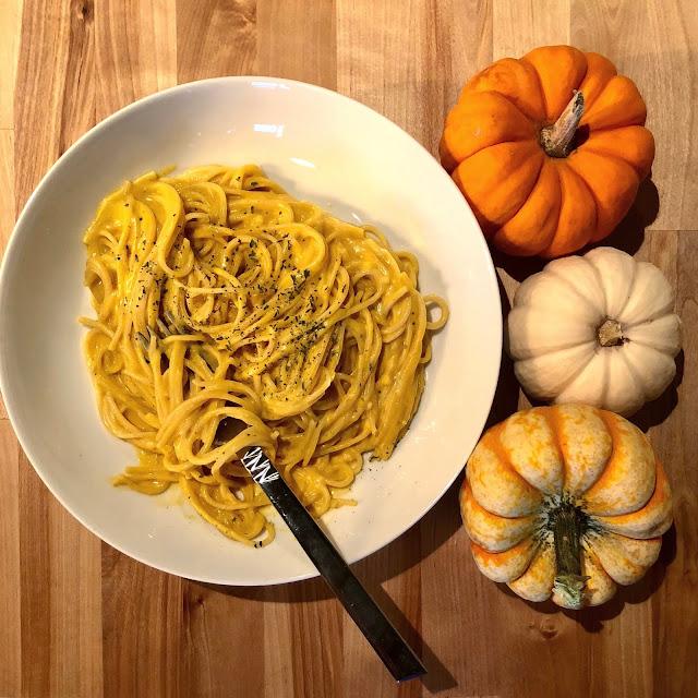 homemade pumpkin pasta sauce