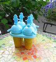 Zelfgemaakte ijsjes