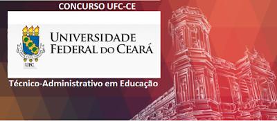Apostila Universidade Federal do Ceará Concurso Técnico Administrativo da UFC 2016,