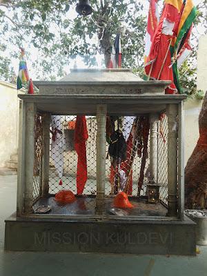 Yogini and Bhairav in Jamwai Mata Temple Jamwa Ramgarh Jaipur