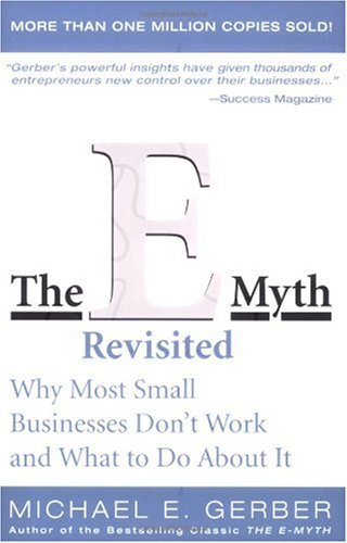 The E-Myth Revisited by Michael Gerber cover page
