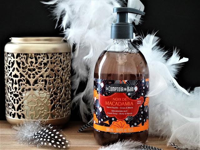 avis Savon Liquide Noix de Macadamia Le Comptoir du Bain, avis le comptoir du bain, savon liquide le comptoir du bain, noix de macadamia le comptoir du bain, laboratoires gilbert