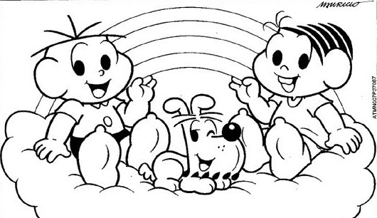 Desenhos Para Pintar: Desenhos Disney Baby Para Colorir