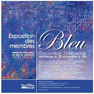 Exposition Collective «Bleu» MACB